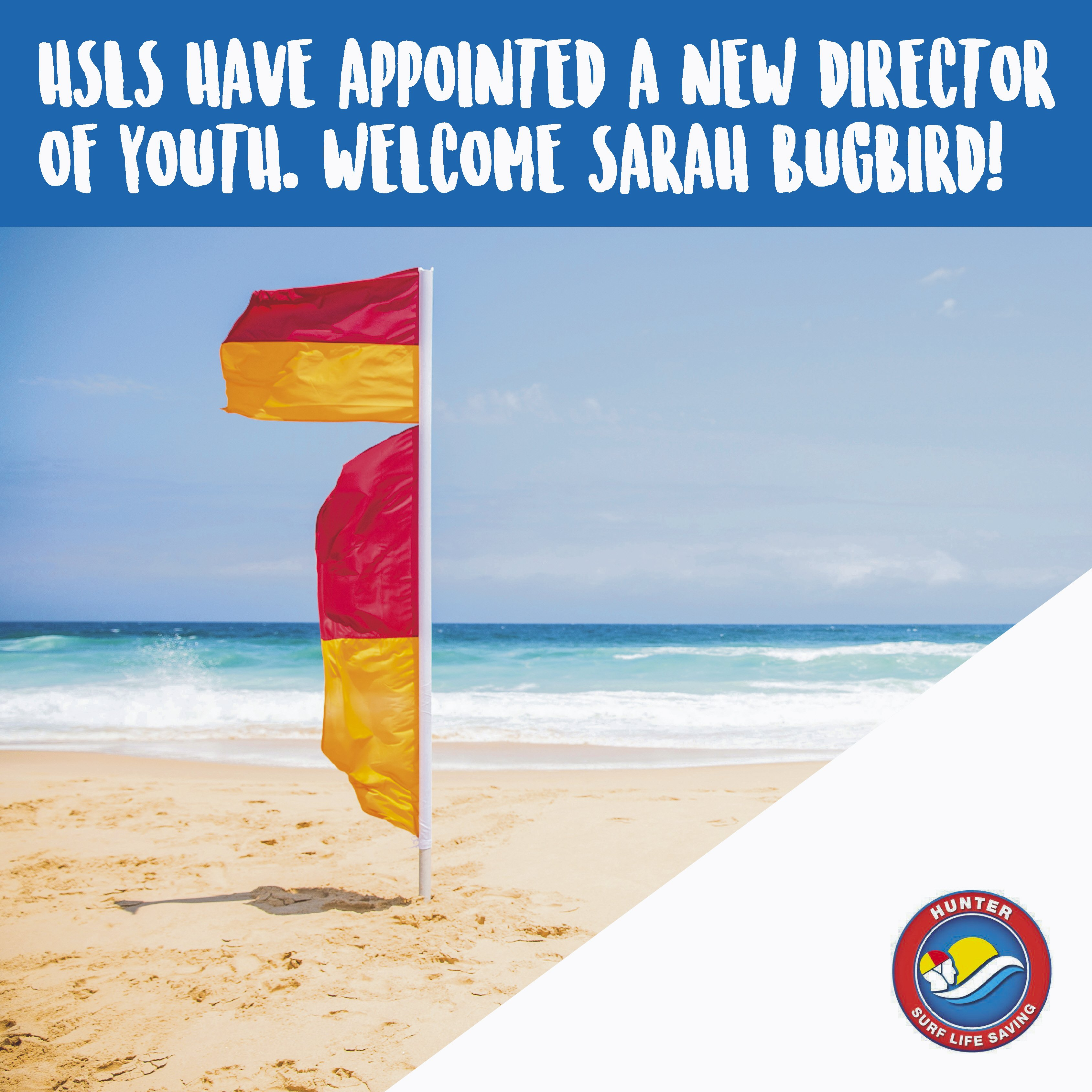 Hunter Surf Lifesaving have appointed a new Director of Youth